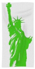 Statue Of Liberty No. 9-1 Bath Towel