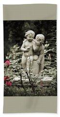 Statue Of Love Bath Towel