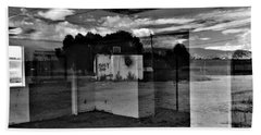 Bath Towel featuring the photograph Stay Out by David Pantuso