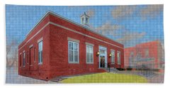 Ste Genevieve Post Office Bath Towel