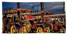 Bath Towel featuring the photograph Steam Power by Chris Lord