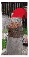Steaming Mud Bugs For Falvor Hand Towel