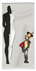 Steampunk Suitor Bath Towel