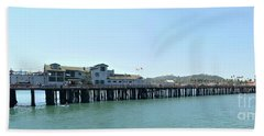 Stearns Wharf 2 Bath Towel
