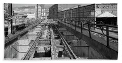 Steelyard Tracks 1 Bath Towel