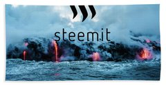 Steemit Heats Up Hand Towel