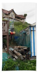 Steephill Cove Bath Towel by Carla Parris