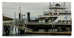 Steilacoom Ferry,washington State Hand Towel