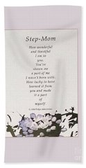 Step Mom Hand Towel by Felipe Adan Lerma