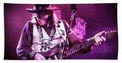 Stevie Ray Vaughan - Change It Bath Towel