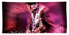 Stevie Ray Vaughan - Crossfire Hand Towel