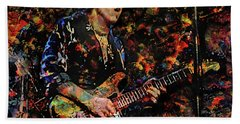 Stevie Ray Vaughan Bath Towel