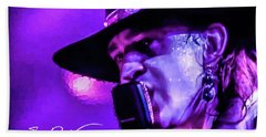 Stevie Ray Vaughan- Voodoo Chile Hand Towel