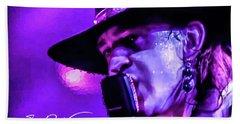Stevie Ray Vaughan- Voodoo Chile Bath Towel