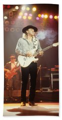 Stevie Ray Vaughn Bath Towel
