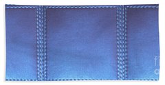 Stiched Leather Look Blue Abstract Wall Decorations By Navinjoshi At Fineartamerica.com Download Jpg Bath Towel