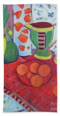 Still Life After Matisse Bath Towel