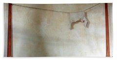 Still Life In A Colonial Bedroom Hand Towel