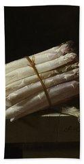 Still Life With Asparagus, 1697 Bath Towel