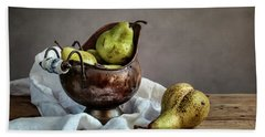 Still-life With Pears Hand Towel
