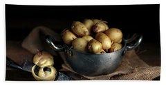 Still Life With Potatoes Bath Towel