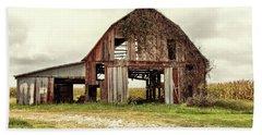 Still Standing Ohio Barn  Hand Towel