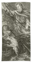 Stilling The Tempest  Hand Towel