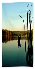 Still Waters Hand Towel by Iconic Images Art Gallery David Pucciarelli