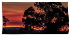 Stirling Range Sunset Bath Towel
