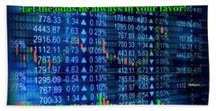 Stock Exchange Hand Towel