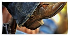 Stock Show Boots I Hand Towel