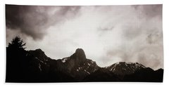 Hand Towel featuring the photograph Stockhorn by Mimulux patricia no No