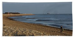 Stokes Bay England Hand Towel by Terri Waters