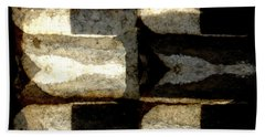 Stone Abstract Hand Towel