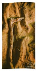 Stone Age Tools Bath Towel