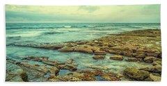 Stone And Sea Hand Towel