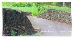 Stone Carriage Road Hand Towel