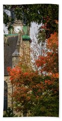 Stone Chapel Fall Hand Towel