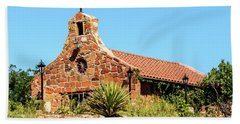 Stone Church New Mexico Hand Towel