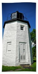Stony Point Lighthouse Bath Towel