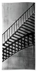 Storage Stairway Hand Towel by Christopher McKenzie