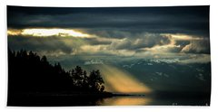 Storm 2 Hand Towel by Elaine Hunter