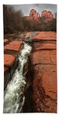 Storm At Cathedral Rock Hand Towel