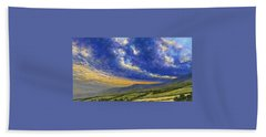 Storm Brewing In Donegal Hand Towel