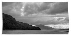 Storm On The Isle Of Skye, Scotland Bath Towel
