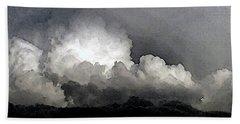 Storm Clouds Are Brewin' Bath Towel