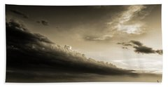 Bath Towel featuring the photograph Storm Is Coming by Sotiris Filippou