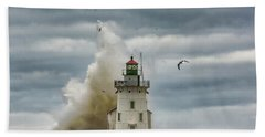 Storm On Lake Erie Bath Towel