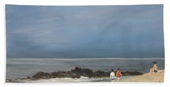 Storm Out To Sea Bath Towel
