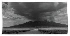 Storm Over Blanca Peak Hand Towel